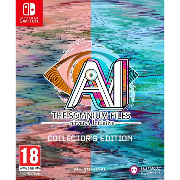 AI The Somnium Files nirvanA Initiative Collector's Edition Nintendo Switch Game