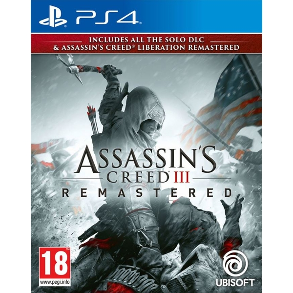 Assassin's Creed III Remastered PS4 Game