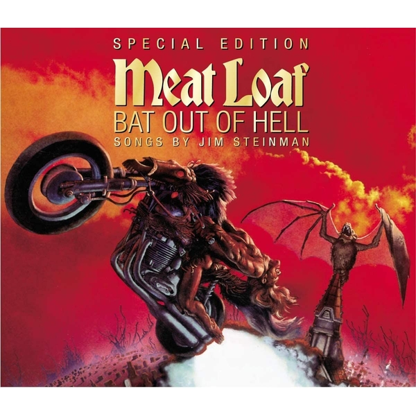 Meat Loaf - Bat Out Of Hell Clear Vinyl