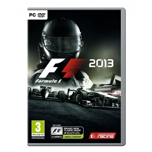 F1 2013 PC Game (Boxed and Digital Code)