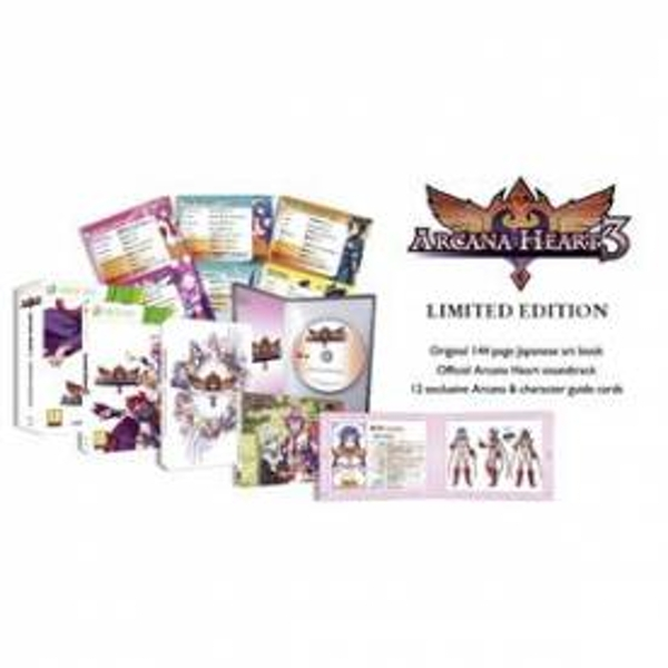Arcana Heart 3 Limited Edition Game Xbox 360
