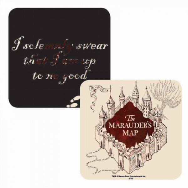 Harry Potter - Marauders Map Lenticular Single Coaster