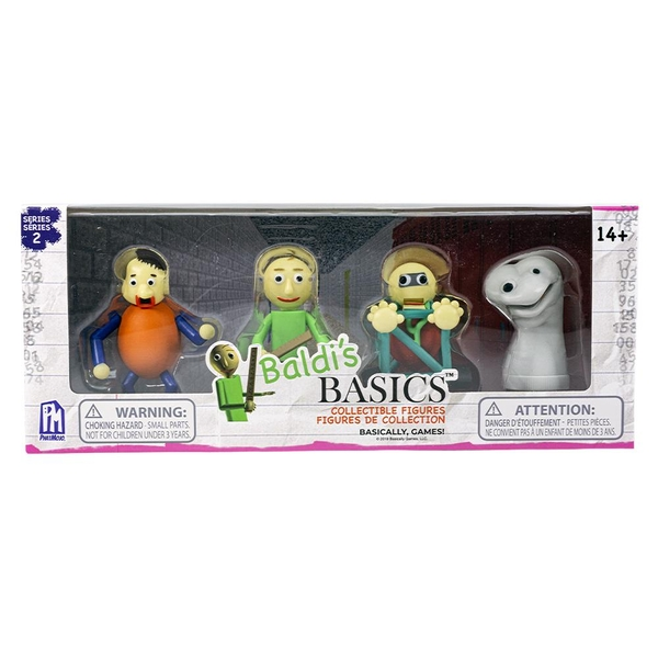 Baldi's Basics Collectable Figure Pack - Series 2