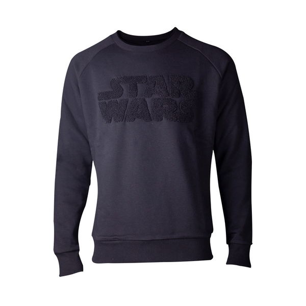 Star Wars - Chenille Logo Men's Large Sweater - Black