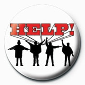 The Beatles - Help! Badge