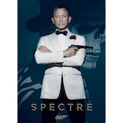 James Bond - Spectre - Skull Postcard