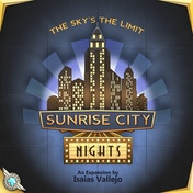 Sunrise City: Nights Expansion Board Game