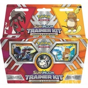 Pokemon TCG Sun & Moon: Lycanroc & Alolan Raichu Trainer Kit