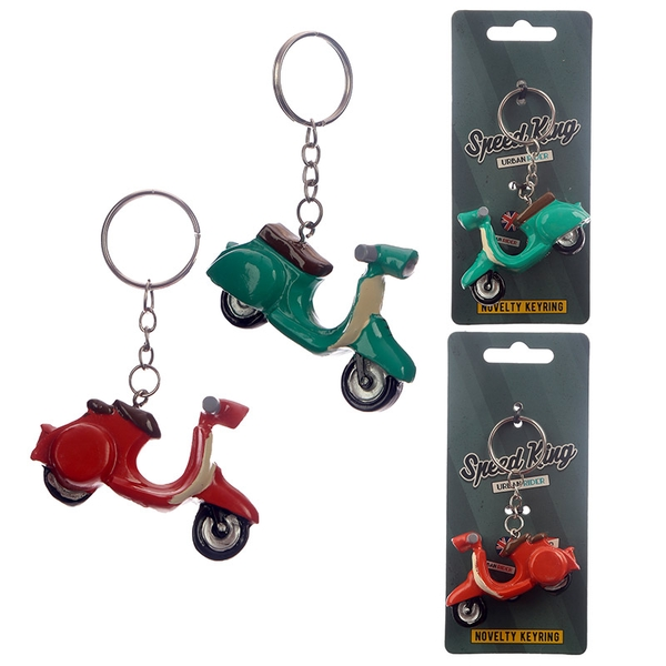 Scooter Keyring (1 Random Supplied)