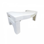 (Damaged Packaging) Folding Toilet Squat Potty Step Stool Bathroom Training Seat Aid For Piles & Constipation GreenHouse