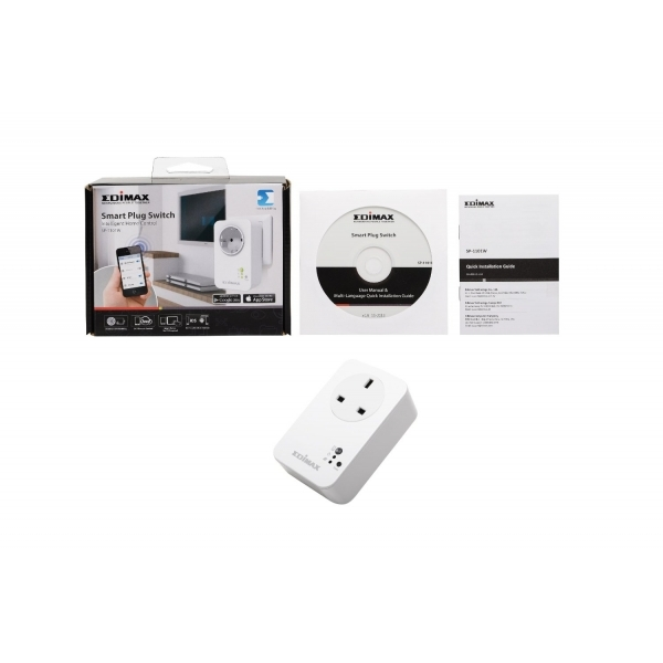 Edimax Smart Plug Switch Intelligent Home Control UK Plug - Image 3