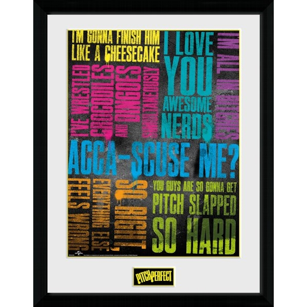 Pitch Perfect Quotes Collector Print