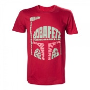 Star Wars Boba Fett Word Play X-Large Red T-Shirt