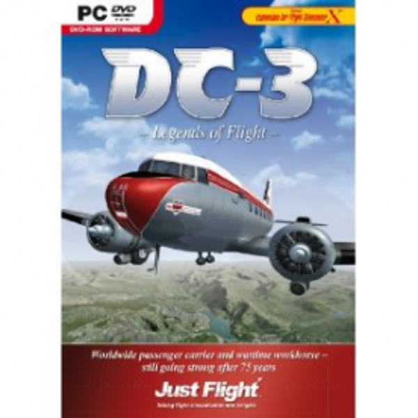 DC-3 Legends of Flight Game PC