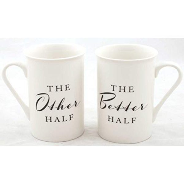 AMORE BY JULIANA? Mug Set - The Other Half & The Better Half