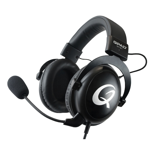 Image of Qpad Qh-91 High End Stereo Gaming Headset Closed Ear Noise Cancelling Detachable Microphone