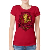 Harry Potter - Brave Women's Large T-Shirt - Red