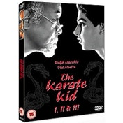 Karate Kid/The Karate Kid Part 2/The Karate Kid Part 3 DVD