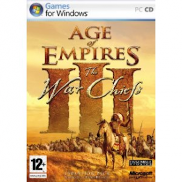 Age of Empires III The WarChiefs Expansion Pack Game PC