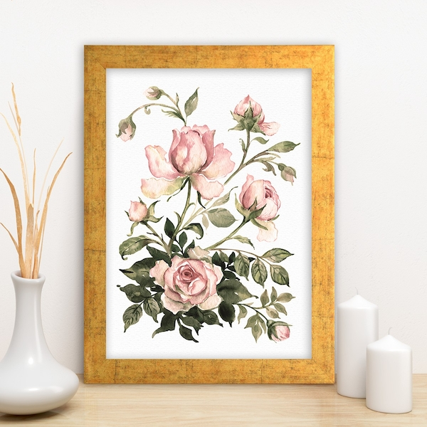 AC391953526 Multicolor Decorative Framed MDF Painting