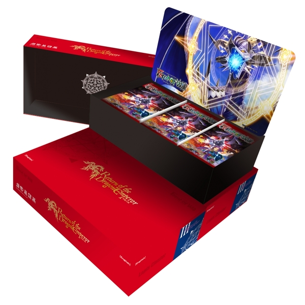 Force Of Will TCG Lapis Cluster 03 Booster - Return Of The Dragon Emperor (36 Packs)