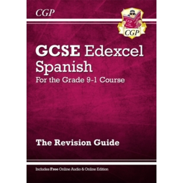 New GCSE Spanish Edexcel Revision Guide - For the Grade 9-1 Course (with Online Edition) by CGP Books (Paperback, 2016)