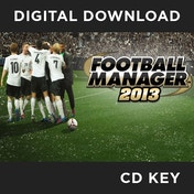 Football Manager 2013 PC CD Key Download for Steam