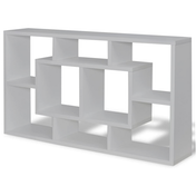 Floating Book Storage Bookshelf | M&W Light Grey