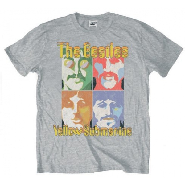 The Beatles - Sea of Science Men's Small T-Shirt - Grey