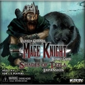 Ex-Display  Mage Knight Board Game Shades of Tezla Expansion Used - Like New