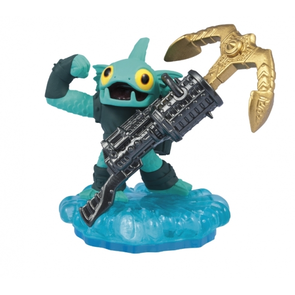 Anchors Away Gill Grunt (Skylanders Swap Force) Water Character Figure