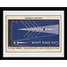 """Transport For London Boat Race 12"""" x 16"""" Framed Collector Print - Image 2"""