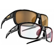 Bliz Tracker Ozon Shiny Black ULS/Photochromic w Red Multi