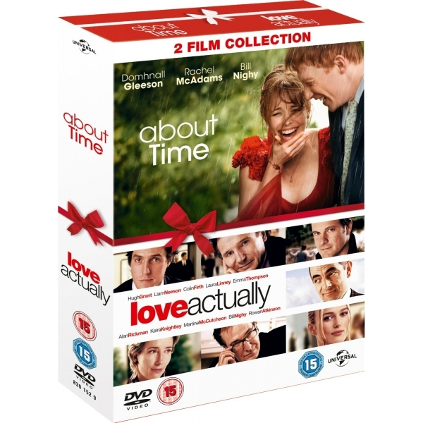About Time / Love Actually Double Pack DVD