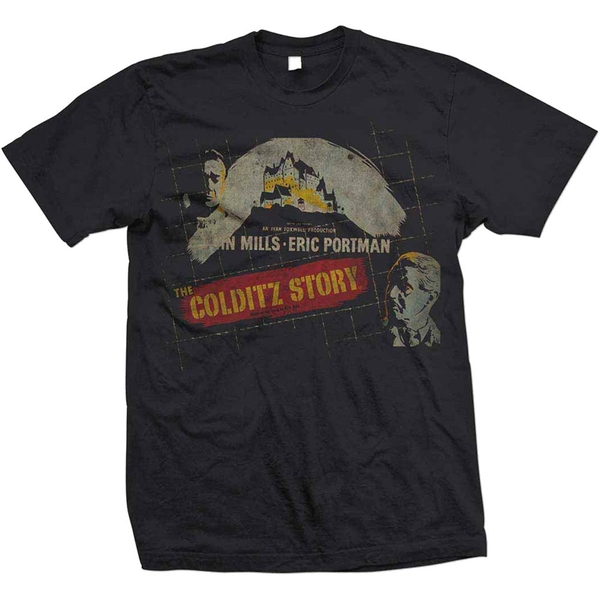 StudioCanal - The Colditz Story Unisex Small T-Shirt - Black