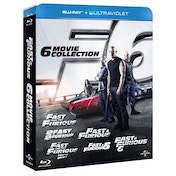 Fast & Furious 1-6 Movie Collection Blu-ray