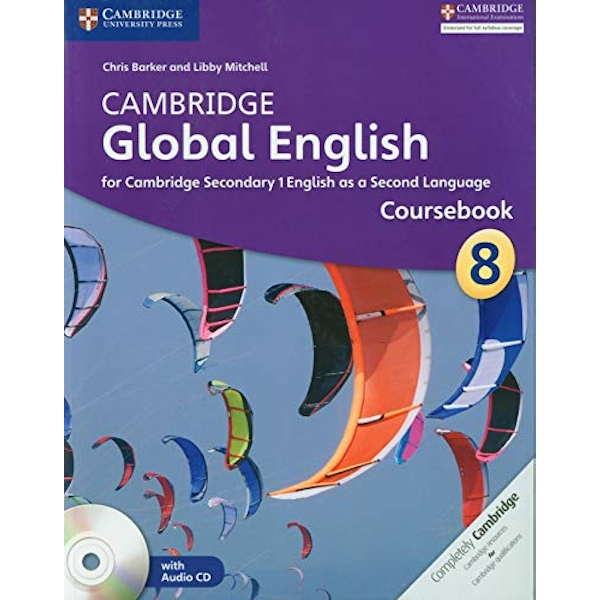Cambridge Global English Stage 8 Coursebook with Audio CD for Cambridge Secondary 1 English as a Second Language  Mixed media product 2014