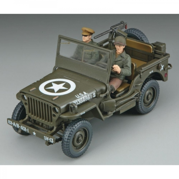 Hasegawa 1:48 Jeep Willys MB Model Kit - Image 2