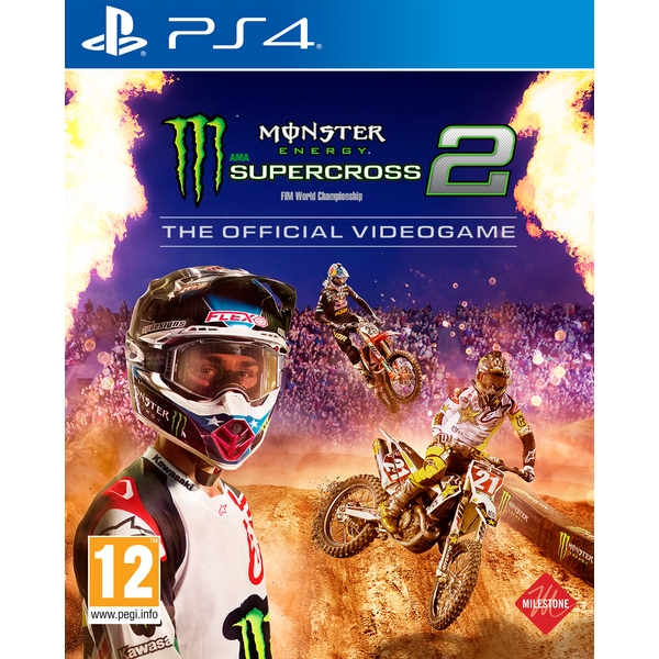 Monster Energy Supercross 2 PS4 Game