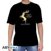 Game Of Thrones - Baratheon* Men's Small T-Shirt - Black