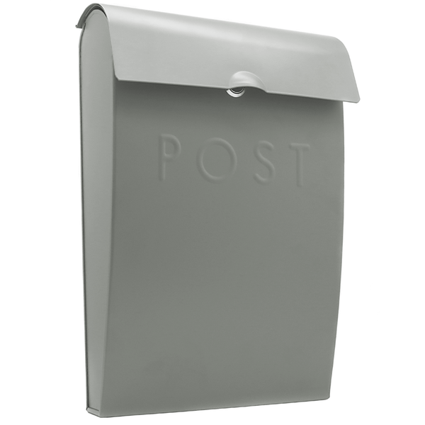 Wall Mounted Post Box | M&W Grey New