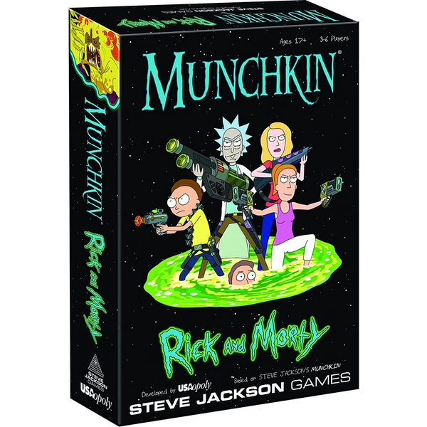 Munchkin Rick and Morty - Image 1