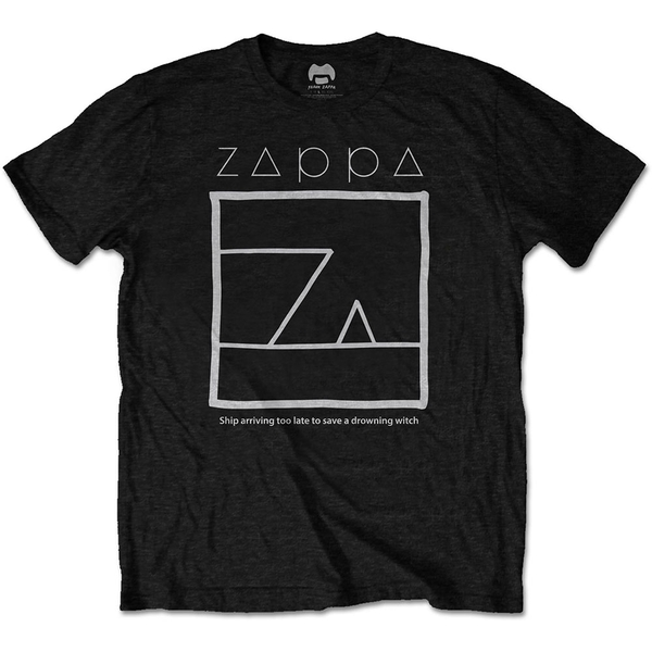 Frank Zappa - Drowning Witch Unisex Small T-Shirt - Black