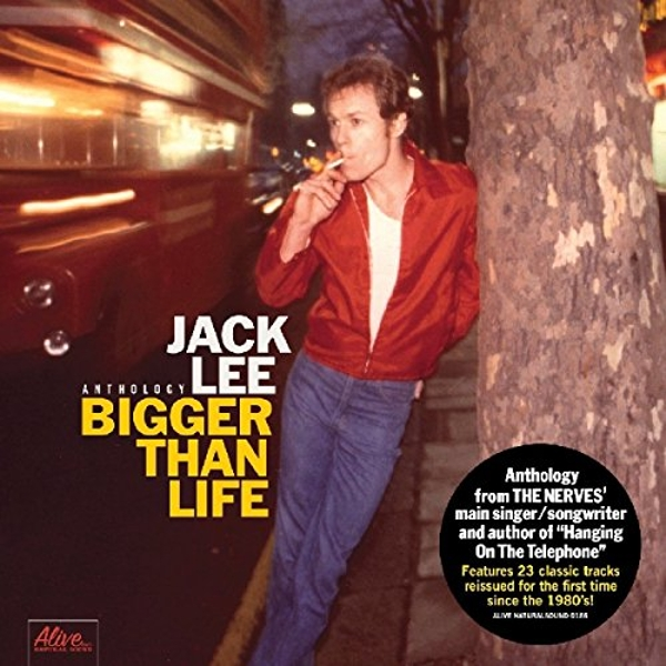 Jack Lee - Bigger Than Life Vinyl