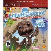 Little Big Planet Game of the Year Edition (GOTY) Game (Greatest Hits) PS3 (#)