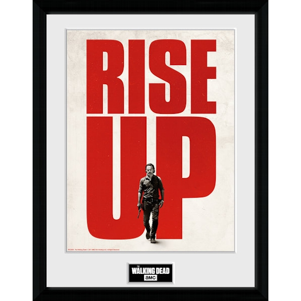 The Walking Dead Rise Up Framed Collector Print