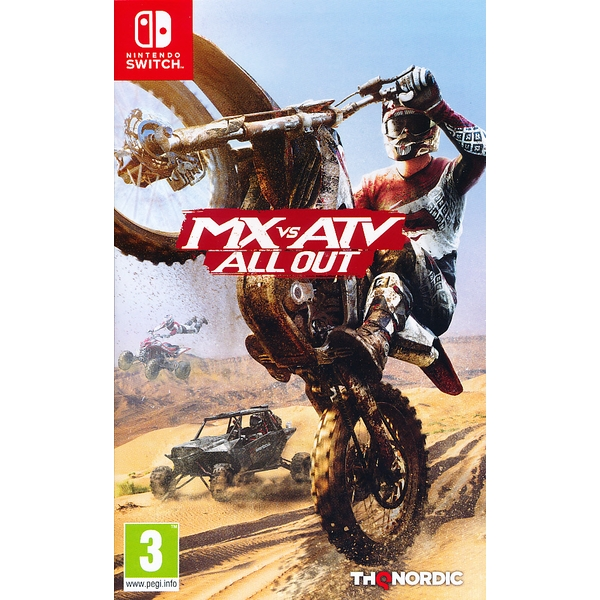 MX vs ATV All Out Nintendo Switch Game