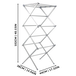 Expandable Folding Clothes Drying Airer | M&W - Image 8