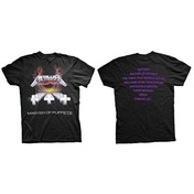 Metallica - Master of Puppets Men's Large T-Shirt - Black