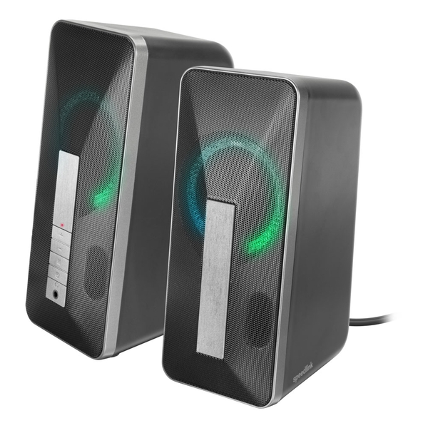 Speedlink Lavel USB-Powered Stereo Speaker 3.5mm Stereo Jack/Bluetooth Audio